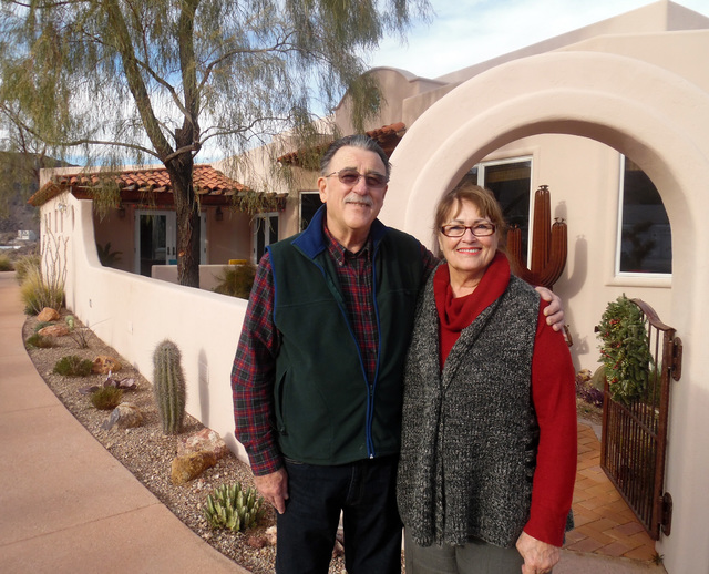Hunter Terry/Boulder City Review Lynn and Anita Froistad spend half their year in Boulder City and were big fans of the American Association of University Women's annual Home Tour, agreeing that i ...