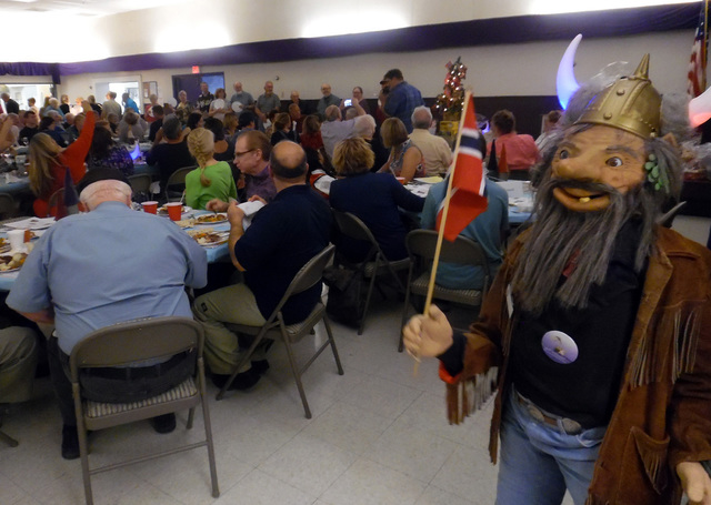 Hunter Terry/Boulder City Review The local Sons of Norway lodge hosted hundreds of diners of Scandinavian descent from across Southern Nevada during its annual Lutefisk dinner on Saturday at the B ...