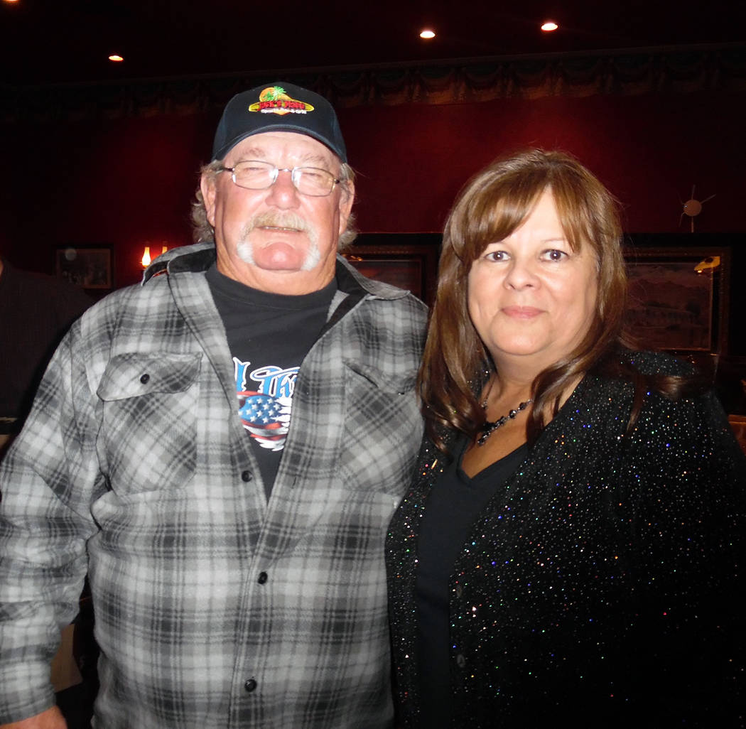 Hali Bernstein Saylor/Boulder City Review The Rotary Club of Boulder City welcomed two new members, Rick Hill and Christine Romero during its 80th anniversary celebration Feb. 28. Hill, husband of ...