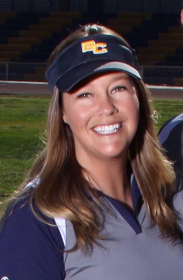 Courtesy photo Sara Fisher is the new girls track coach at Boulder City High School for the 2017 season.