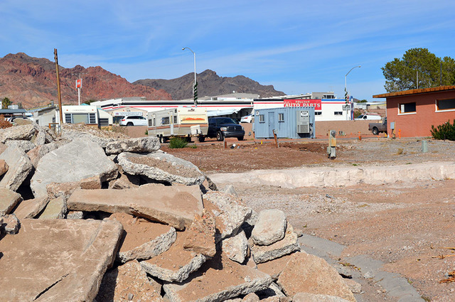 Max Lancaster/Boulder City Review  The Boulder City Mobile Home Park at 1501 Nevada Highway was purchased out of bankruptcy court in November 2015 by developer Randy Schams. With help from his dau ...