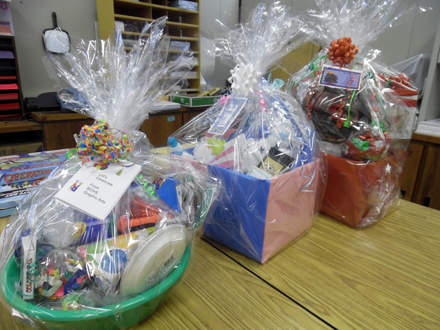 The Tricky Tray fundraiser returns to the Boulder City High gym Wednesday from 5:30 p.m. to 7 p.m. when the Community Education Advisory Board will raffle off dozens of prize baskets with proceeds ...