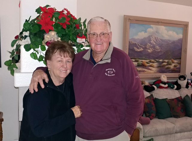 Hunter Terry/Boulder City Review Gerry and Jim Turner celebrated their 60th anniversary on Thanksgiving Day with their four children and eight grandchildren in Santa Barbara. The two have lived in ...