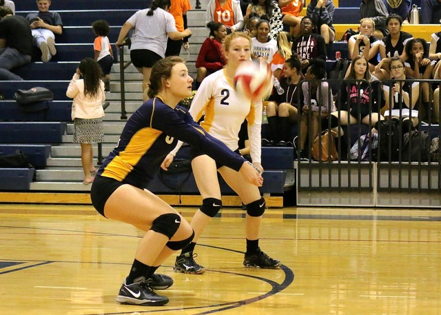 A successful return by senior Lexi Bringle during the regular season finale last week. The Lady Eagles hosted Pahrump Valley in the 3A Southern Region semifinals on Wednesday after press time. Lau ...
