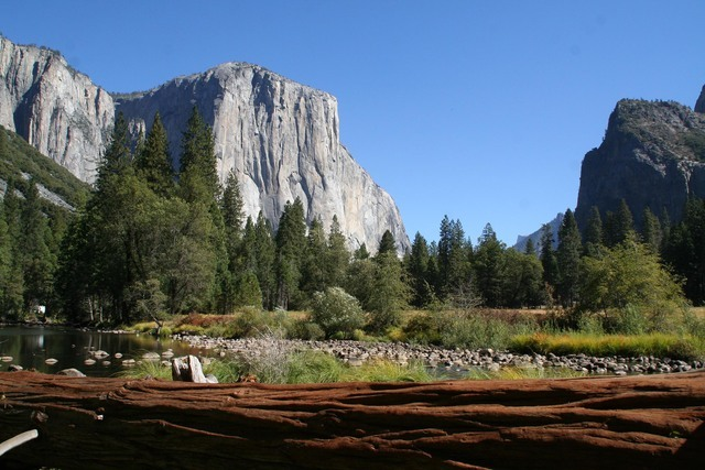 El Capitan is a 3,000-foot-high granite monolith that is extremely popular with climbers who visit Yosemite National Park in California. Photo courtesy Deborah Wall