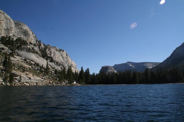 Tenaya Lake is a high Sierra lake found along Tioga Road in Yosemite National Park, California. Photo courtesy Deborah Wall