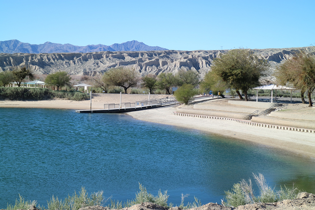 Photo courtesy Deborah Wall A boat-launching ramp and dock are among many amenities you will find at Big Bend of the Colorado State Recreation Area.