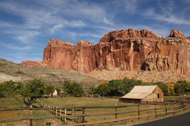 Photo courtesy Deborah Wall The Gifford Homestead Barn is found along the Scenic Drive in Fruita, Utah.