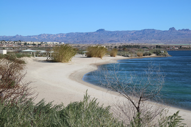 Photo courtesy Deborah Wall Big Bend of the Colorado State Recreation Area has about 2 miles of shoreline with sandy beaches, lagoons, picnic ramadas and barbecue grills.