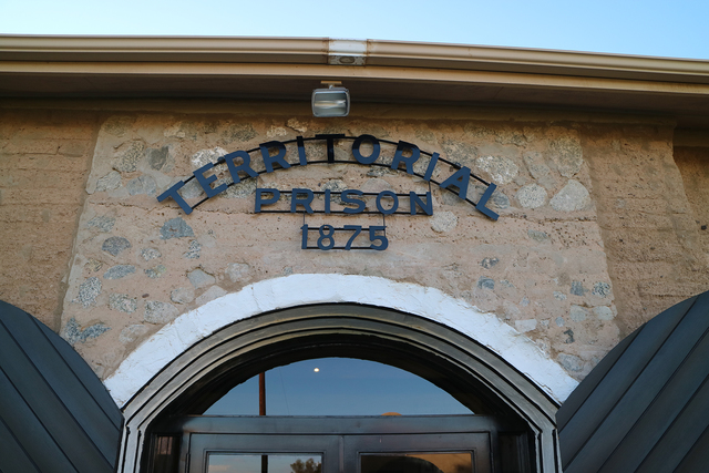 Photo courtesy Deborah Wall The Yuma Territorial Prison in Arizona opened in 1876. Over the short 33-year period that it was open it housed more than 3,000 prisoners.