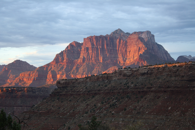 Photo courtesy Deborah Wall Zion National Park in Utah is an excellent fall destination.