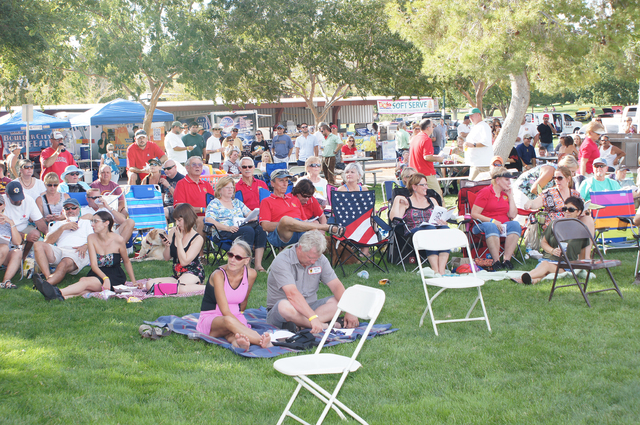 Photo courtesy Roger Hall  Those attending Boulder City Sunrise Rotary's annual Wurstfest will again enjoy fresh cooked sausages, vendor's treats, live entertainment and, for the first time, a bie ...