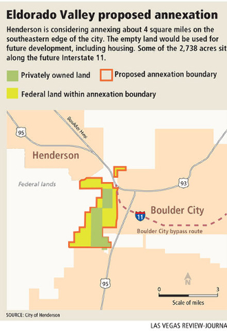 Henderson Eyes Land In Eldorado Valley Boulder City Review