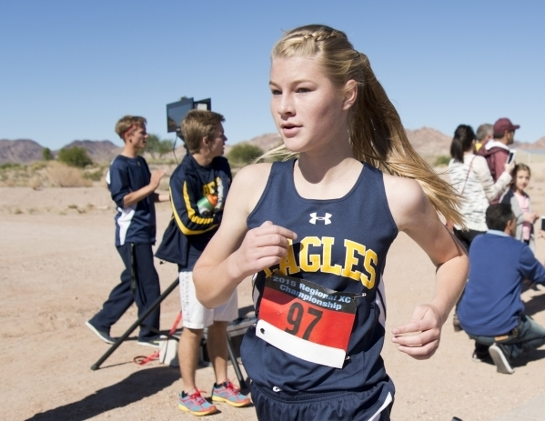 Boulder City junior Sierra Selinger captured her second straight southern region cross-country individual meet  girls title Friday, leading Boulder City to its third consecutive trip to the team s ...