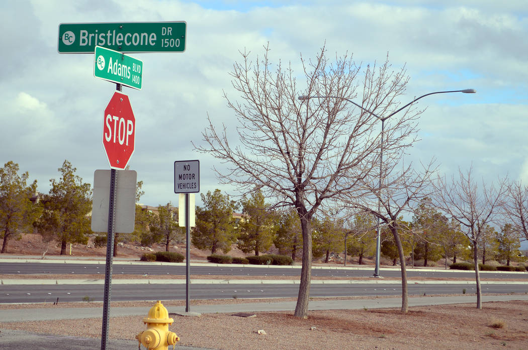 Celia Shortt Goodyear/Boulder City Review City Council approved the tentative map for StoryBook Homes' 127-lot subdivision at the southeast corner of Adams Boulevard and Bristlecone Drive at its m ...