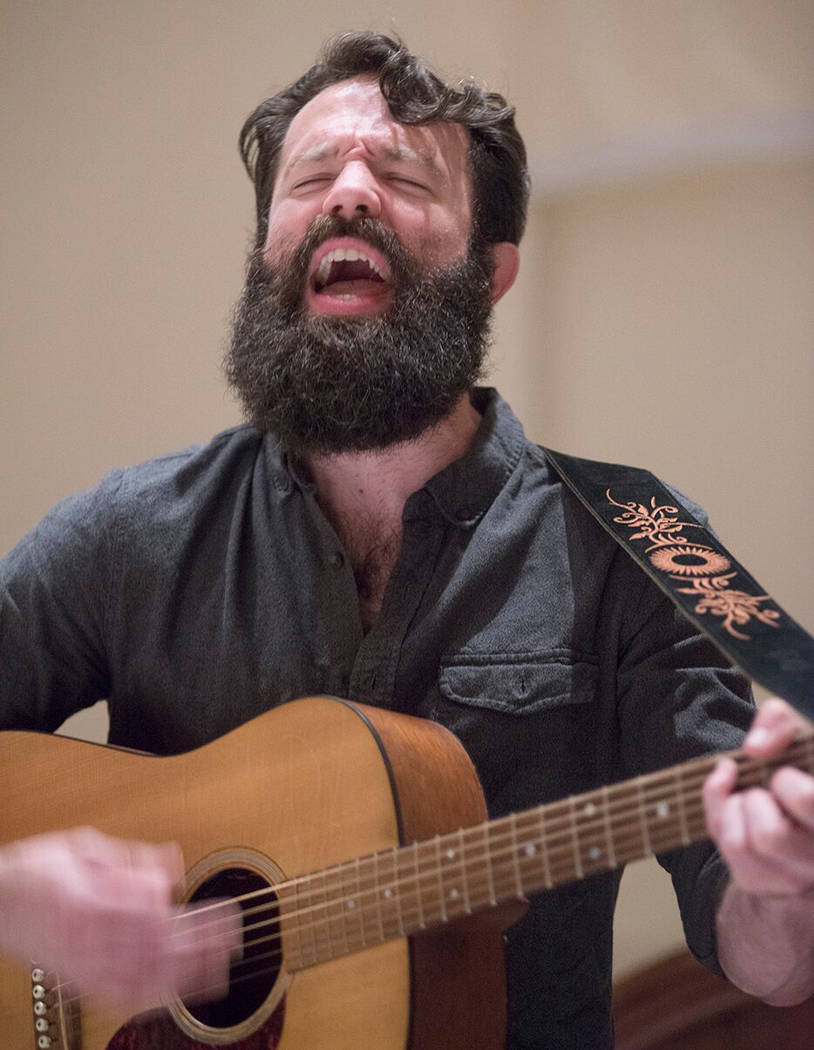 Tobi D'Amore Musician Tobi D'Amore will stop in Boulder City on Friday and Saturday as he tours the country performing his take on cover songs as well as original tunes.
