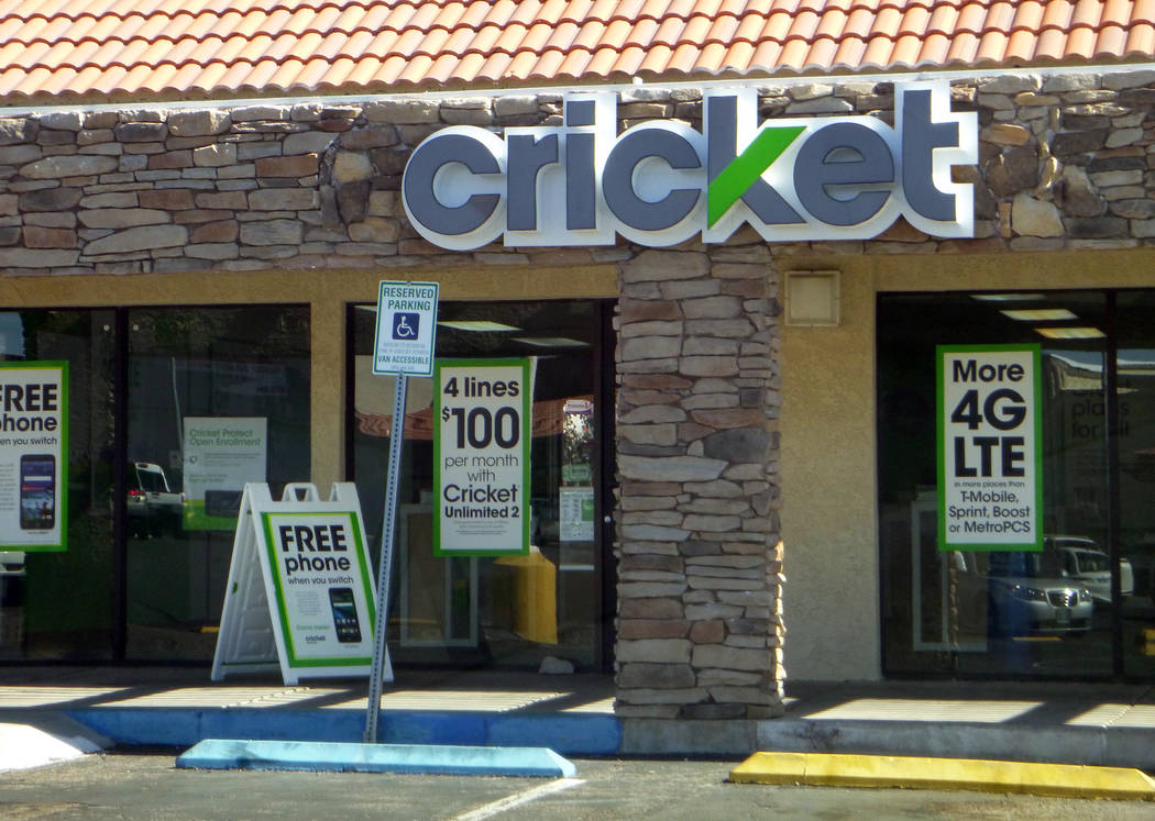 Celia Shortt Goodyear/Boulder City Review Cricket Wireless is open at at 802 Buchanan Blvd., site of the old Radio Shack store.