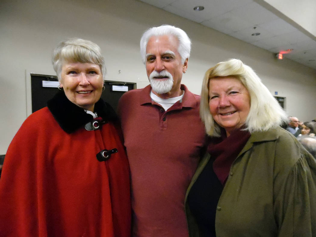 Hali Bernstein Saylor/Boulder City Review Boulder Dam Credit Union sold 500 tickets for its annual meeting and dinner on Wednesday, Feb. 21, 2018, in six hours. Attending the event at Henderson Co ...