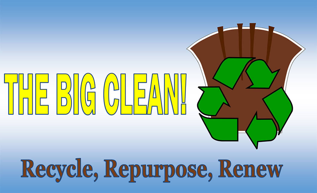 Boulder City Boulder City residents can recycle and donate unwanted items so they can repurposed or used elsewhere during the Big Clean event from 9 a.m. to 1 p.m. Saturday, March 24, 2018, at Bra ...