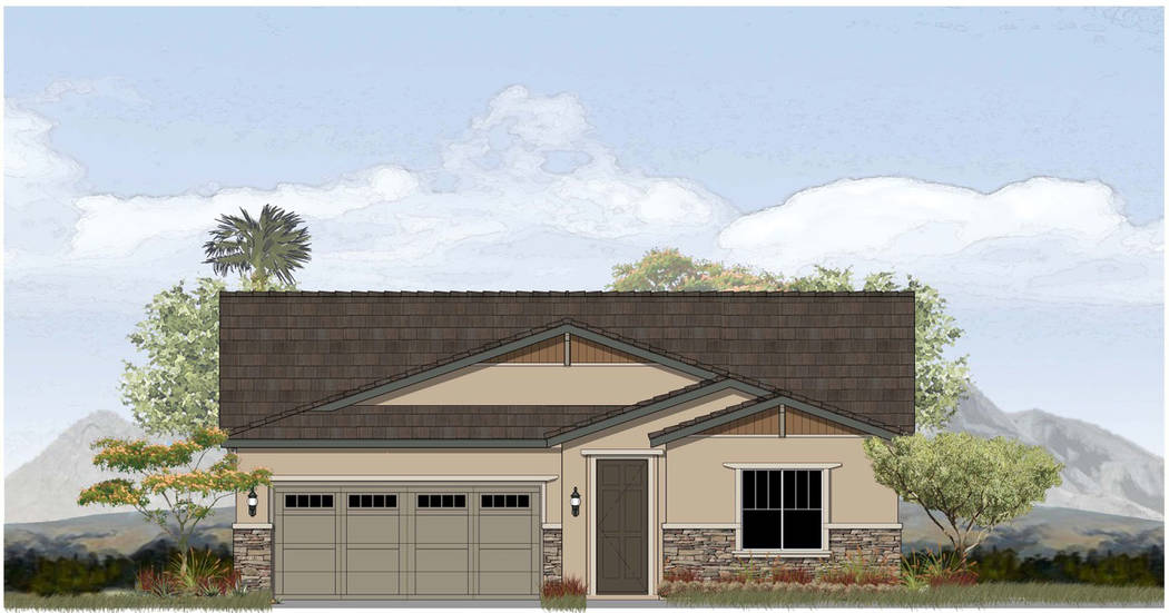 Red 7 Communications StoryBook Homes' Boulder Hills subdivision will include the single-story Craftsman floor plan.
