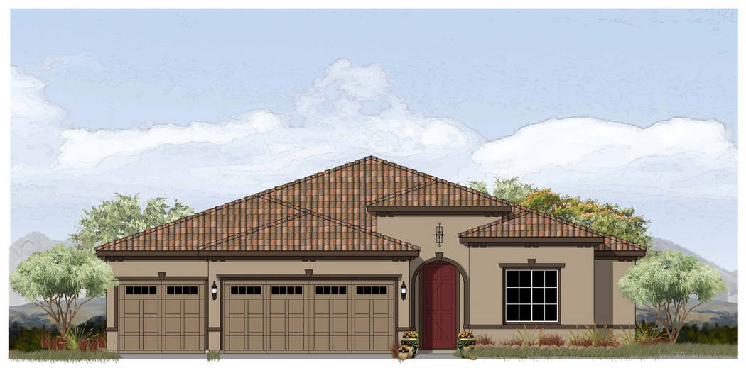 Red 7 Communications The Boulder Hills subdivision, to be built by StoryBook Homes, is slated to include the Southern Italian model.