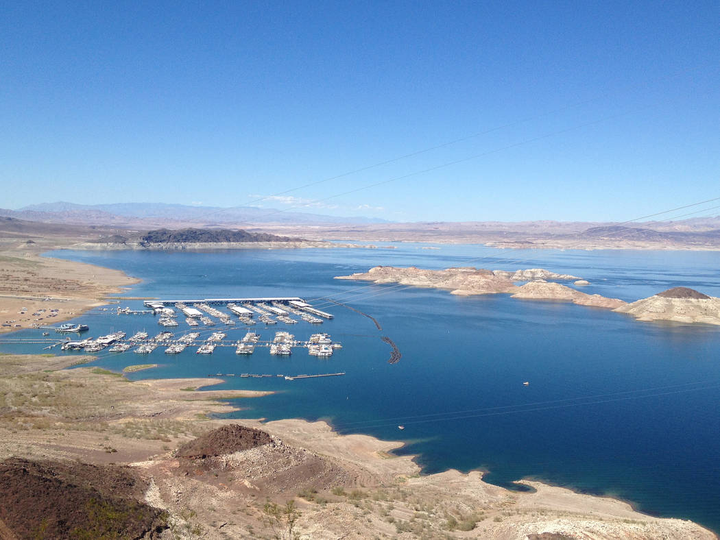 "File Lake Mead National Recreation Area has started a ""No Breaks"" campaign to enforce its ban on glass and plastic foam products in the park."