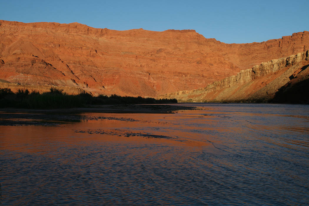 Deborah Wall The Colorado River at Lees Ferry in Arizona is where many smooth-water raft trips begin.