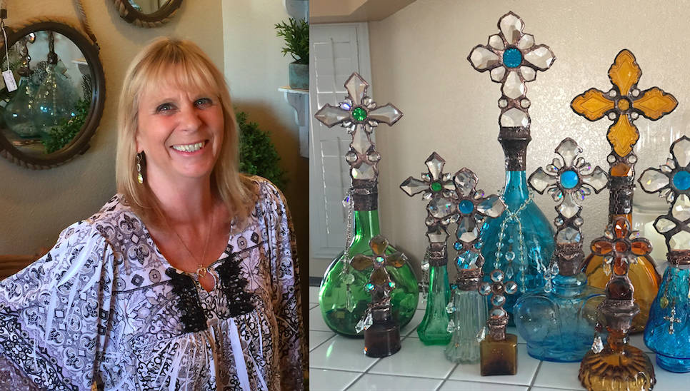 Boulder City Art Guild Decorative glass objects, including those incorporating items found by the seashore, are the work of Annalea DeFazio. She is April's featured artist in Boulder City Art Guil ...