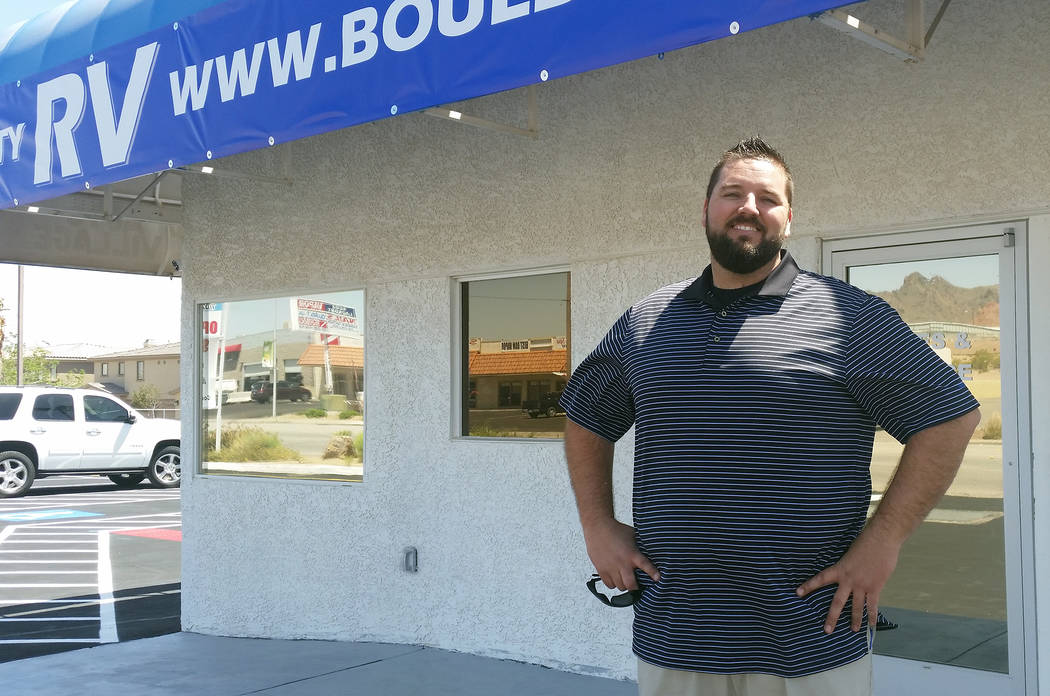 Celia Shortt Goodyear/Boulder City Review Caleb Gray is opening Boulder City RV at the site of the old Boulder City Toybox, 1495 Boulder City Parkway, and will offer RV service, consignments, rent ...