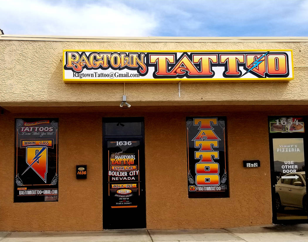 Chris Unger Ragtown Tattoo has expanded to a bigger location at 1636 Boulder City Parkway.