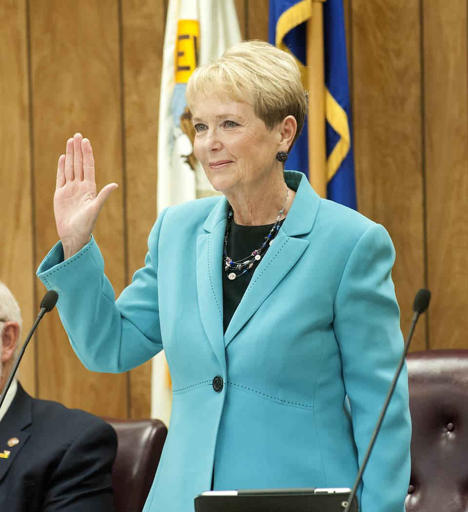 Councilwoman Peggy Leavitt