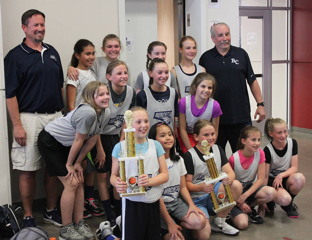 The Lady Junior Bobcats team from Garrett Junior High School won the 2018 Valley Athletic Conference playoffs of April 19, finishing the regular season as 2018 co-champions of the elementary girl ...