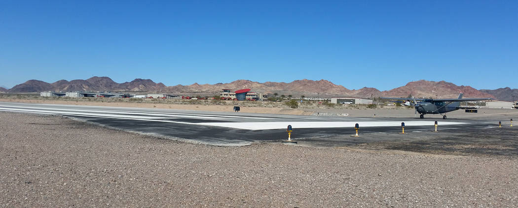 Celia Shortt Goodyear/Boulder City Review Boulder City Airport's application to the Federal Aviation Administration's control tower program has been accepted, meaning it could install an air t ...