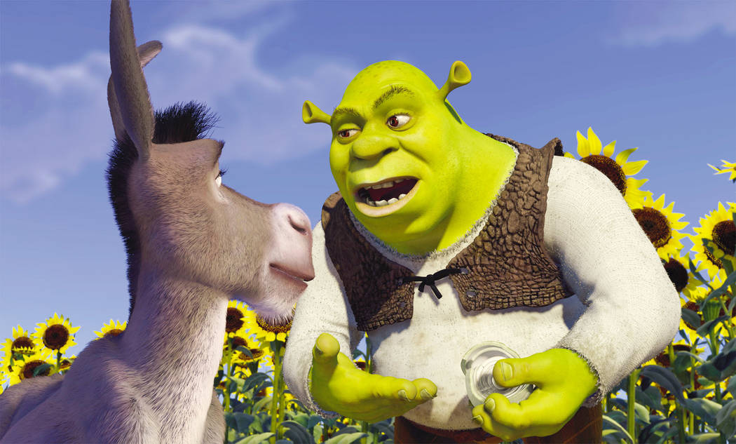 """""""Shrek the Musical"""" comes to life May 9-12 at Boulder City High School. It will be the first full production in the school's new theater."""