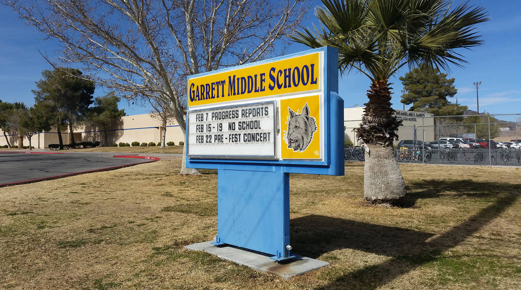 A 14-year-old student at Garrett Junior High School was arrested April 24 after making terrorists threats against fellow students. As a result, new safety measures were put into place at the school.