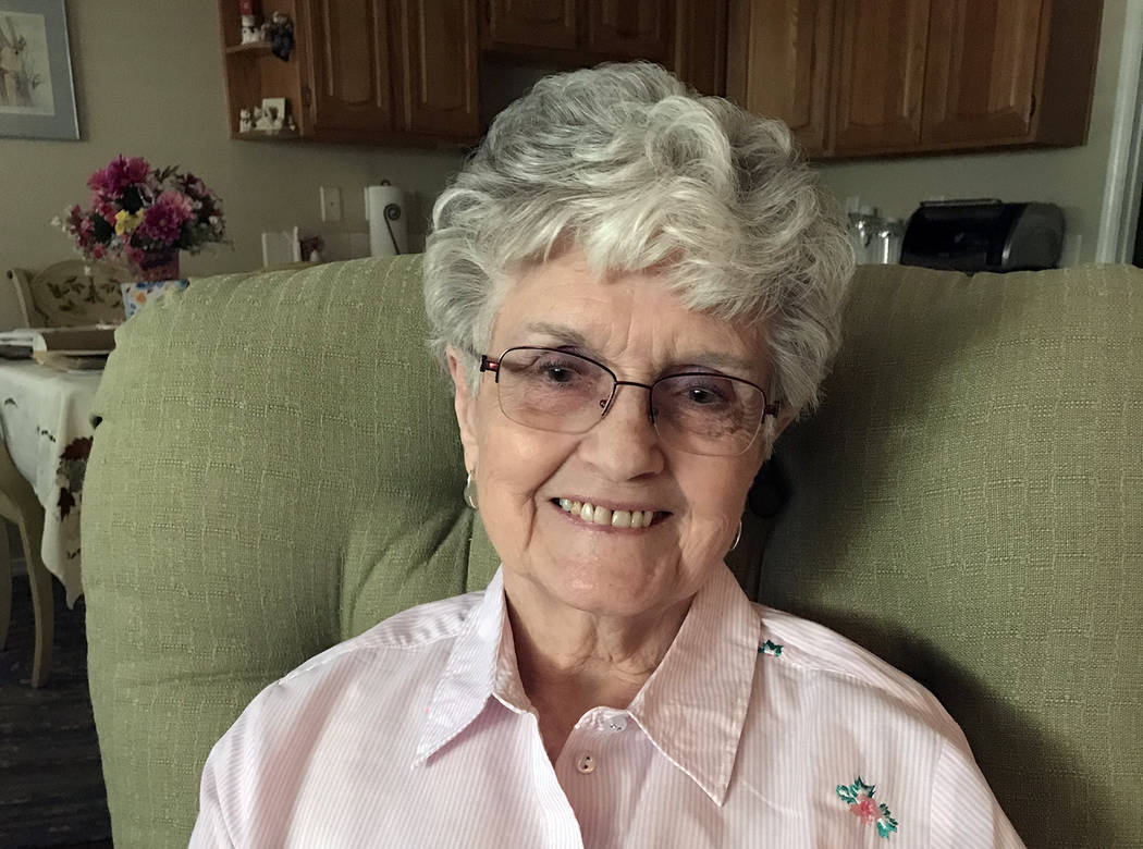 Hali Bernstein Saylor/Boulder City Review Ethel Huish of Boulder City celebrated her 90th birthday May 8; a party in her honor, attended by more than 100 family members, was held Saturday.