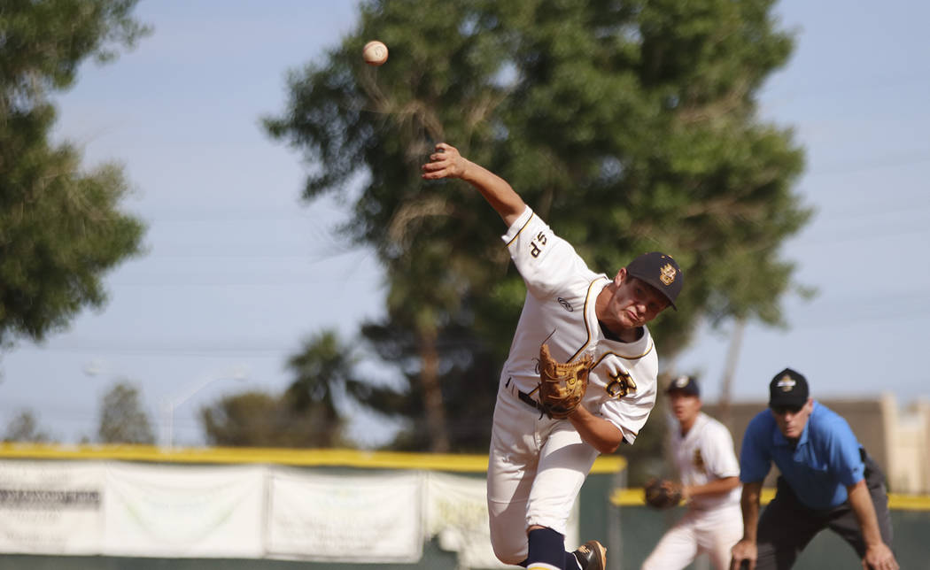 Boulder City High School Yearbook D.J. Reese, a senior at Boulder City High School, was credited with the win after pitching four innings, allowing five runs off of six hits with four strikeouts, ...