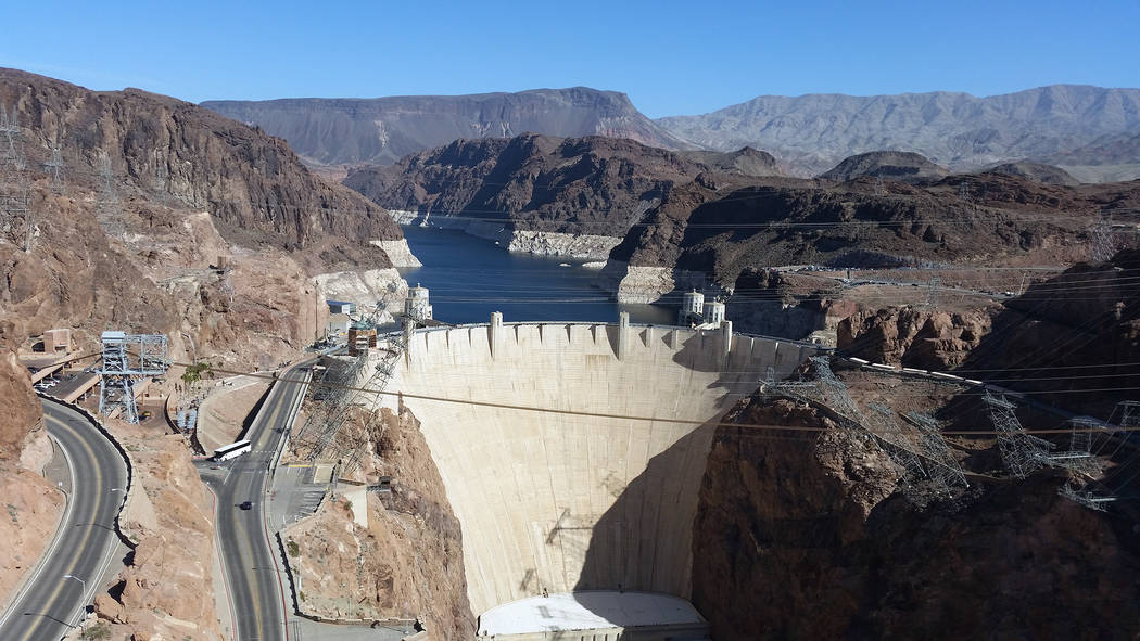 Celia Shortt Goodyear/Boulder City Review The Mike O'Callaghan-Pat Tillman Memorial Bridge provides an excellent view of the Hoover Dam which can be a great backdrop for a high school gradu ...