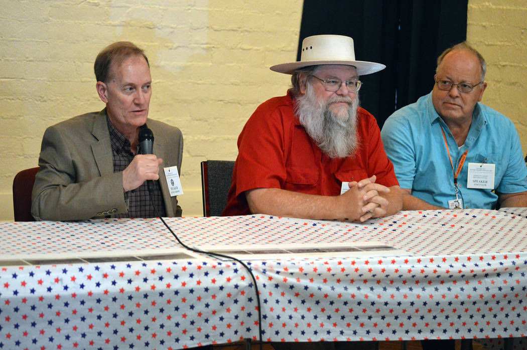 Celia Shortt Goodyear/Boulder City Review The 2018 Historic Preservation Day in Boulder City also included a panel discussion with some of the key historic preservation leaders and stakeholders in ...