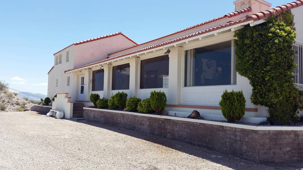 Celia Shortt Goodyear/Boulder City Review The Six Companies Executive Lodge in Boulder City was open to the public for a limited number of tours on Saturday, May 12, for the 2018 Historic Preserva ...