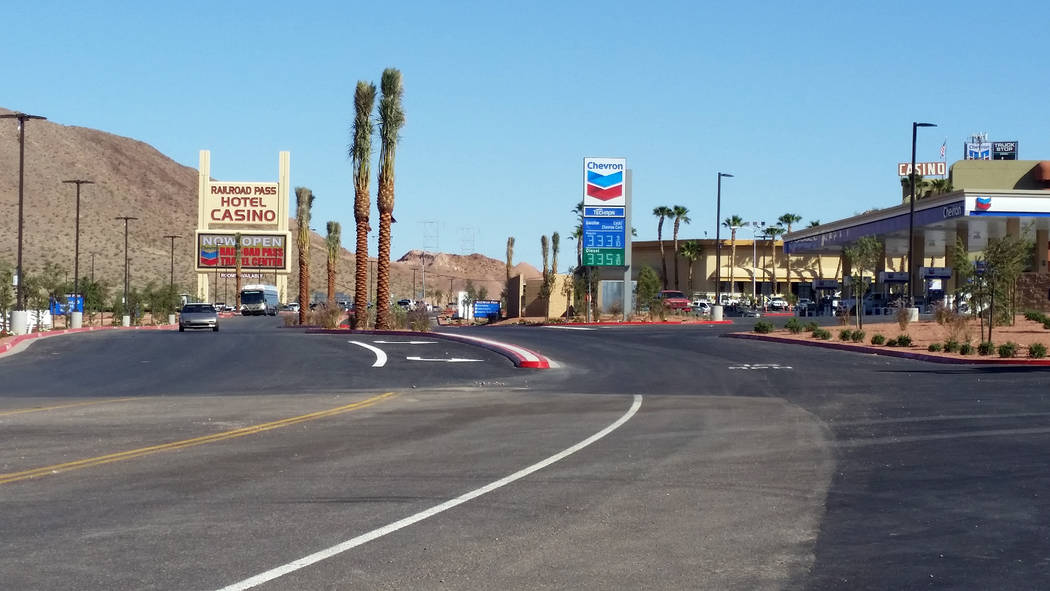 Celia Shortt Goodyear/Boulder City Review The Travel Center at Railroad Pass Hotel and Casino is now open for business.