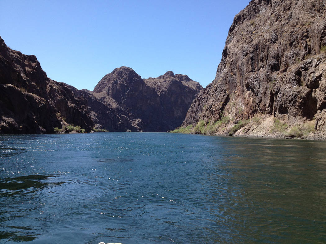 File Black Canyon Water Trail is a 30-mile stretch of the Colorado River that travels from Hoover Dam to Eldorado Canyon. It is home to slot canyons, coves, caves, beaches and abundant wildlife.