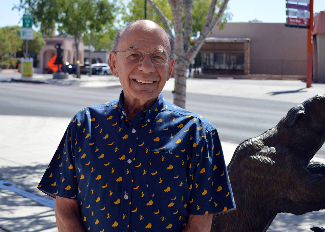 "Celia Shortt Goodyear/Boulder City Review Longtime Boulder City resident Carl Raines has finished his ""Milk Sop Sam"" childrens book series that is based on his experiences growing up on ..."