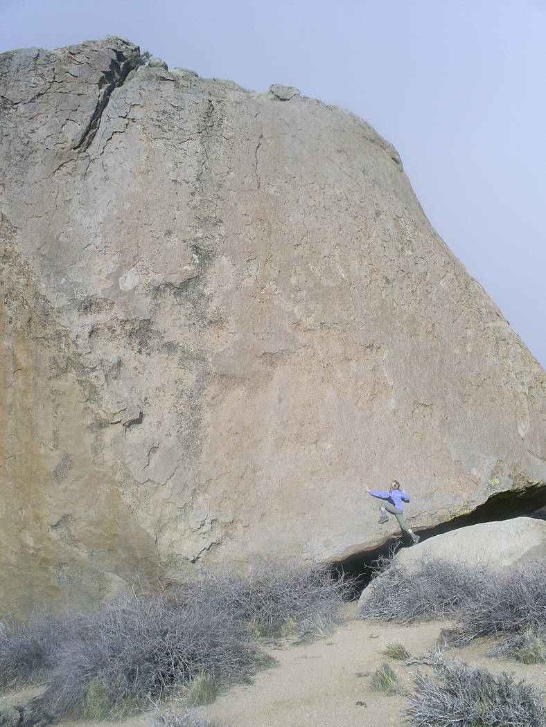Deborah Wall The granite formation of the Buttermilks are a top destination for visitors who come to the Bishop, California, area whether they come to do some serious bouldering or for all ages ju ...