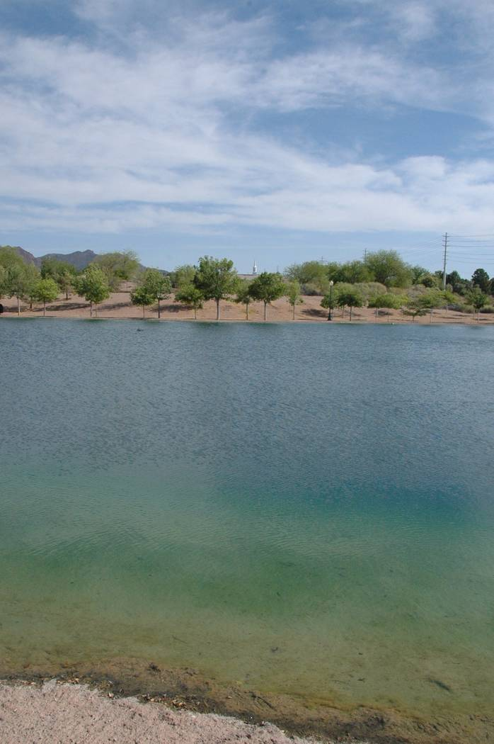 Jayme Sileo/Boulder City Review This year, Free Fishing Day at Veterans' Memorial Park on Saturday will include a bowfishing area, where participants can learn how to catch fish with a specialized ...