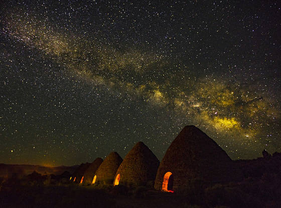 Nevada Department of Conservation and Natural Resources The six beehive-shaped ovens at Ward Charcoal Ovens State Historic Park near Ely won first place in last year's America's State Parks ...