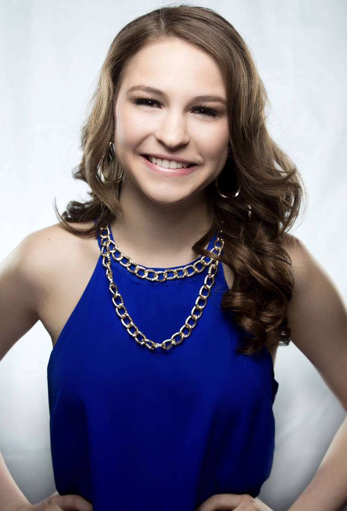 Taylor Blatchford Eighteen-year-old Taylor Blatchford of Boulder City is representing Nevada at the 61st annual Distinguished Young Women National Finals in Mobile, Alabama, from June 28-30.