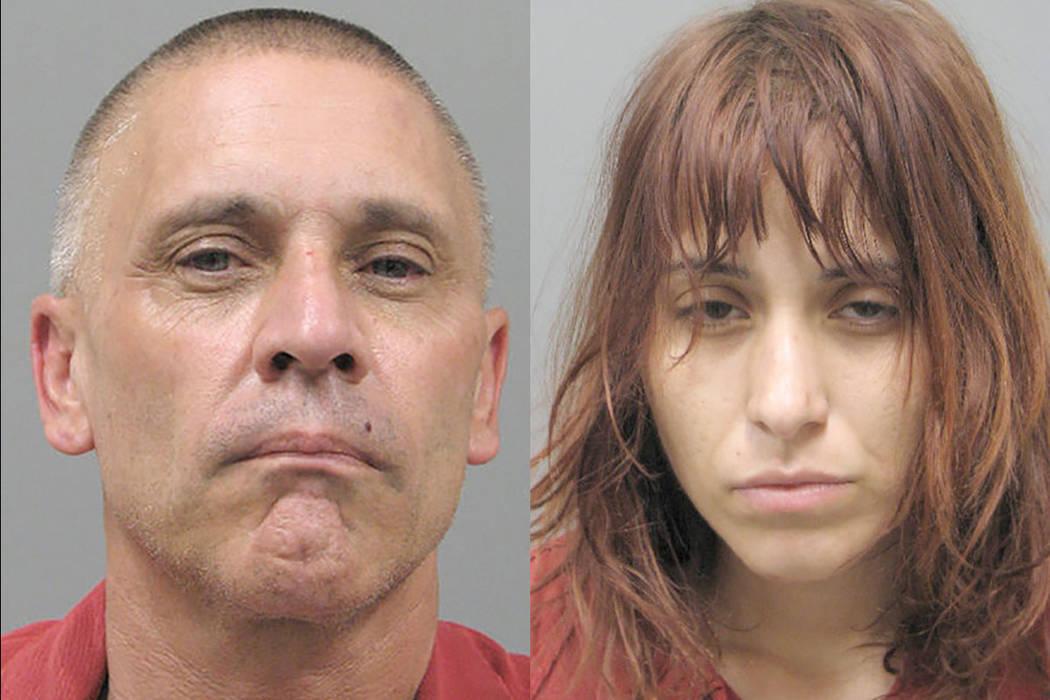 Henderson Police Department Kenneth McDougall, 50, and Jesenia Guerrero, 25