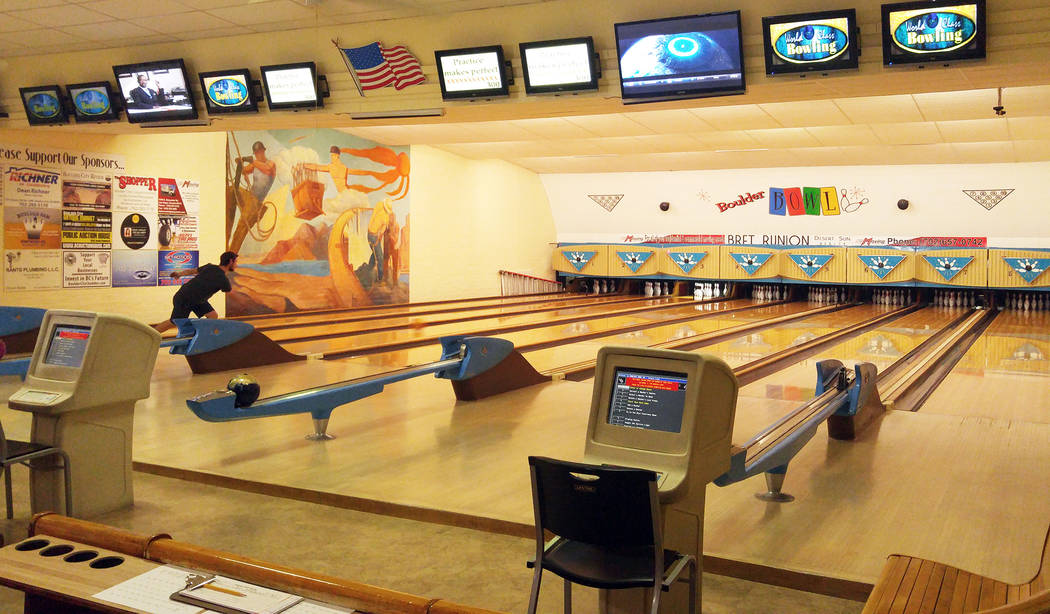 File Boulder Bowl offers an air-conditioned place to spend some time on a summer day. It has open bowling regularly and participates in the Kids Bowl Free program.