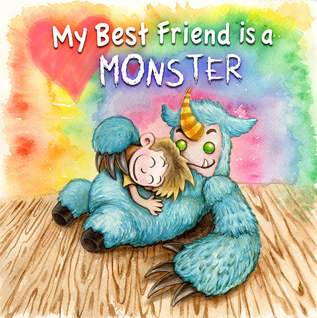 """Sam Lemos/The Nik Naks The Nick Naks created a children's book, """"My Best Friend is a Monster,"""" based on their song of the same name."""